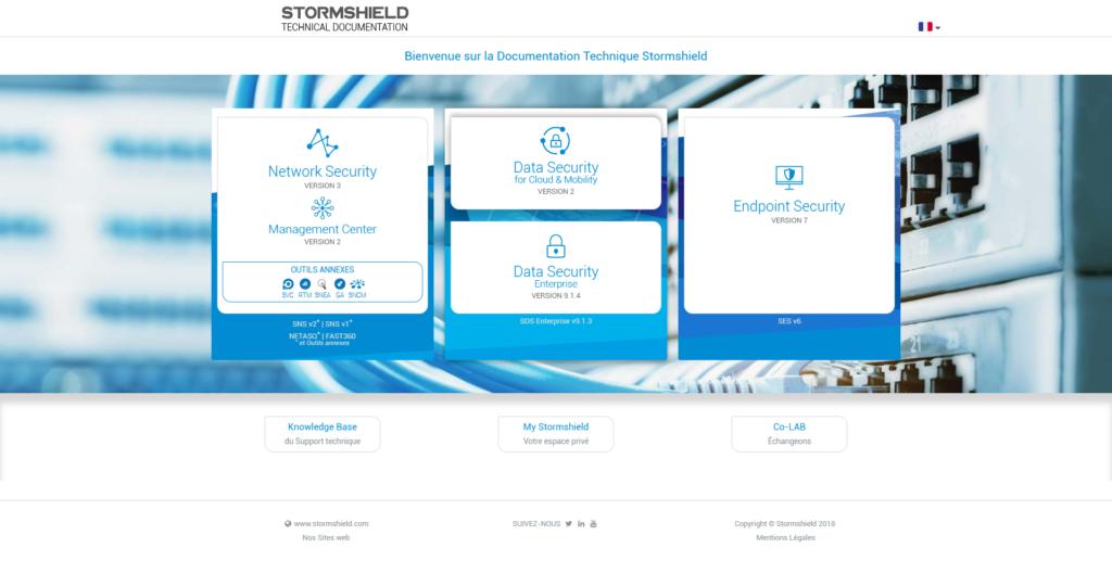 Le site de la documentation technique fait peau neuve | Stormshield